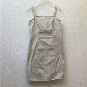Ann Taylor Beige / Khaki Summer Dress 8P
